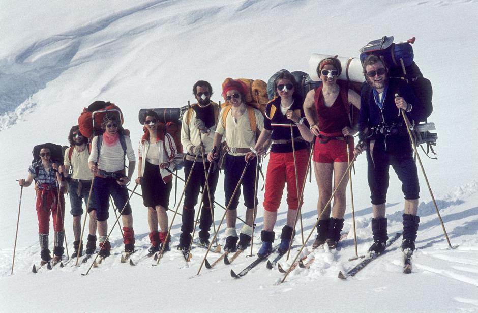 Skitur på 70-tallet