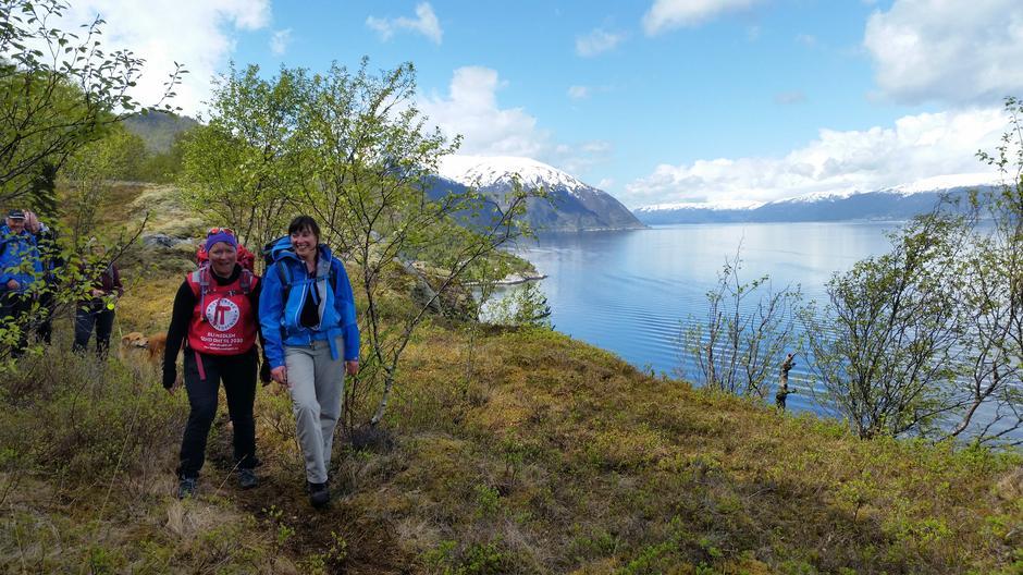 Sørsida av Sognefjorden