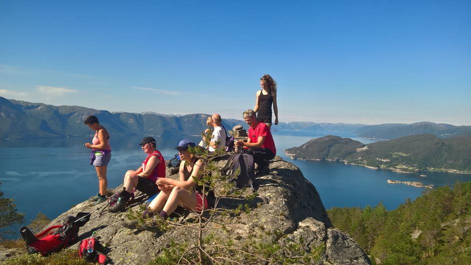 Pause på Høgkusen