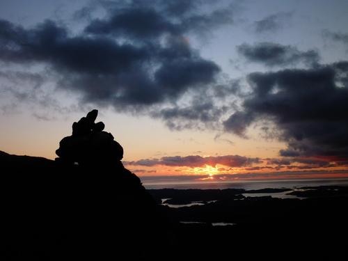 Solnedgang fra Liatårnet
