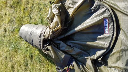 Klargjør alltid teltet for enkel montering.