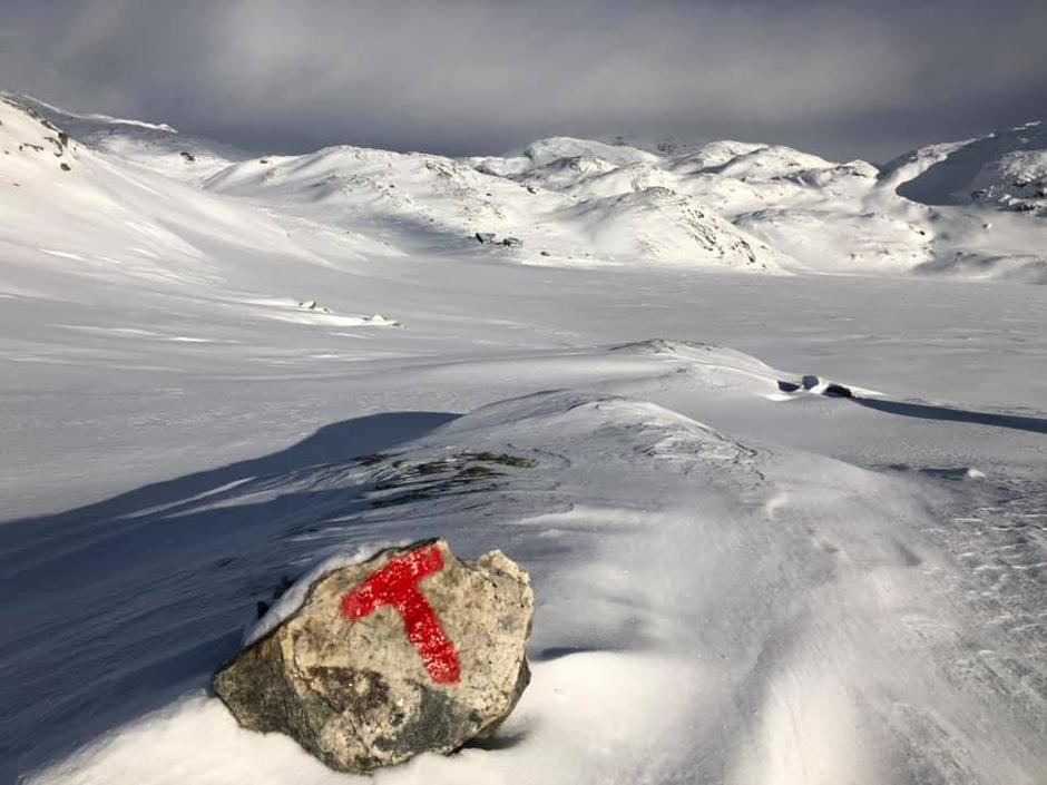 5. Feb 2019 Heiberg Storevatn i bakgrunnen.