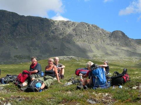 Mellom Raggesteindalen og Geiterygghytta. Foto: Telemark Turistforening