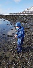 Det er vår når ørretfiske har starta