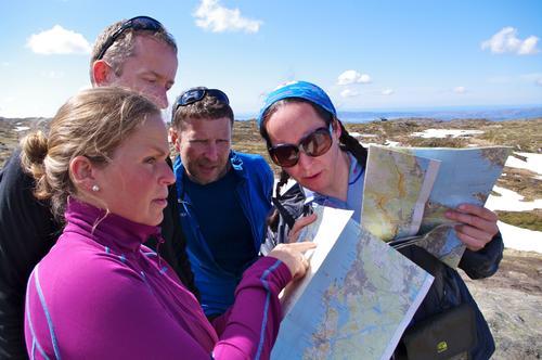 Grunnleggende turlederkurs på Byfjellene i Bergen
