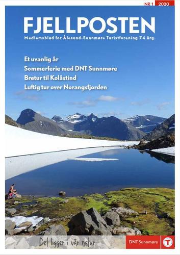 Digital utgave av Fjellposten