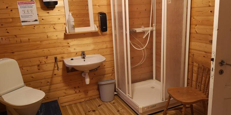 Stormhuset felles bad