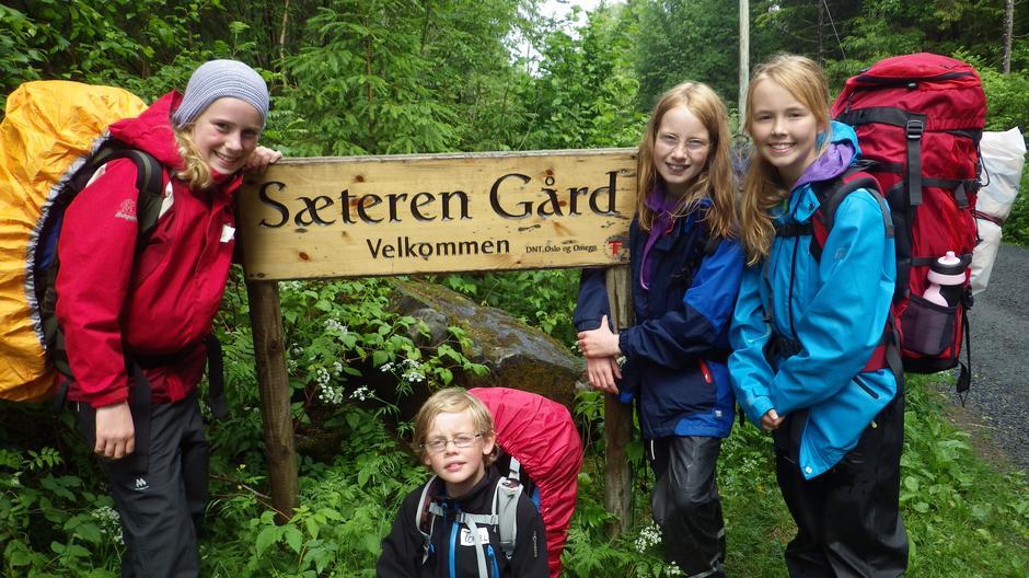 Sommerferieleir på Sæteren Gård