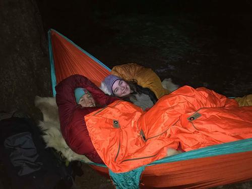 Nyttige tips når du skal overnatter  i hengekøye om vinteren