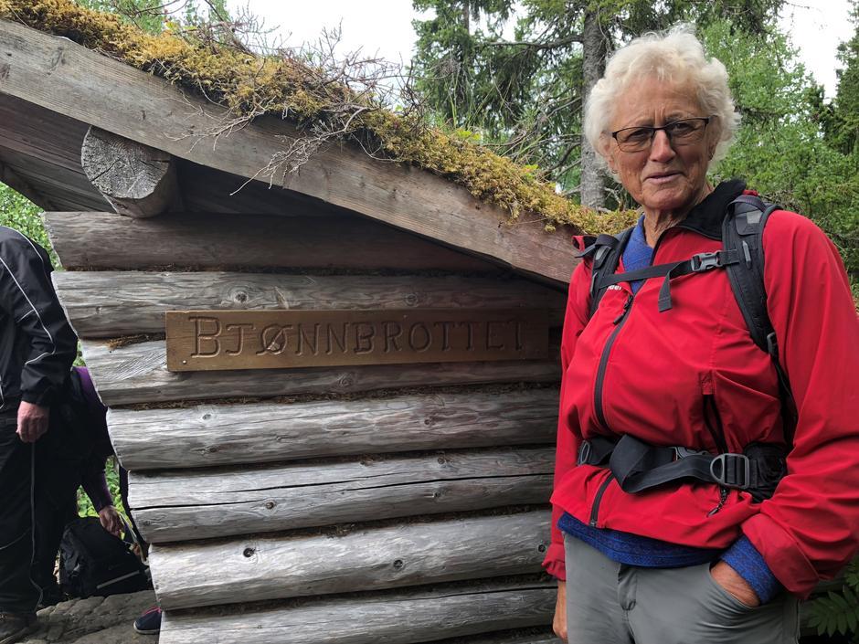 Kjellrun Skjerve har vært turleder på mang en tur, både for den eldre og yngre garde – sommer som vinter.
