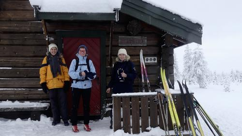Skitur til Vollkoia / Blåmyrkoia 03.01.2018.