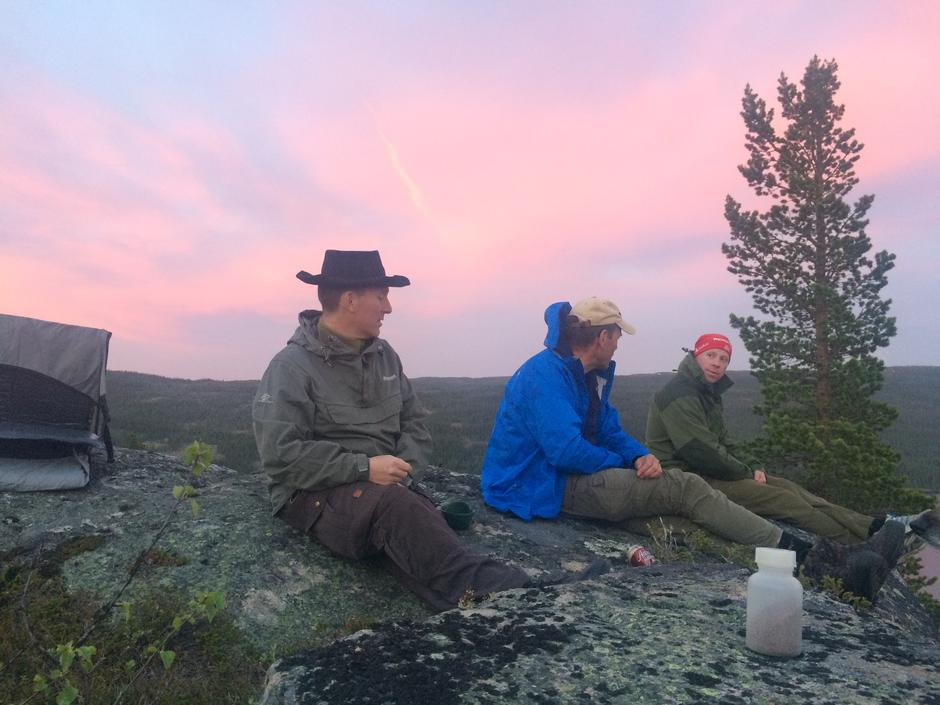 Tore Martinen, Erik Brenden og Eirik Granum