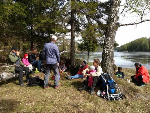 Familietur til Vilsundvika