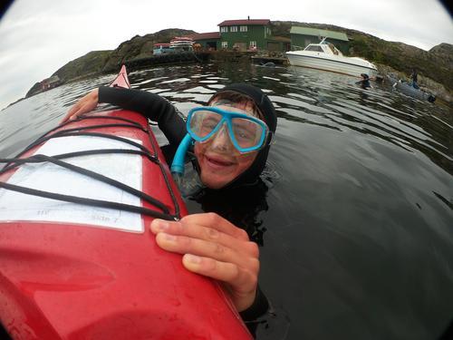 Dykking på BaseCamp 2018