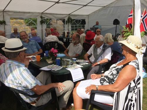 Seniorgruppas hagefest 16. juni