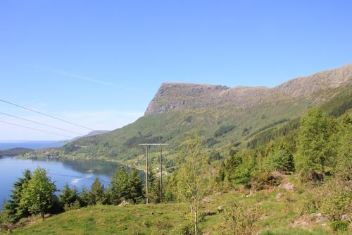Turen startar på Hovland i Lifjorden.