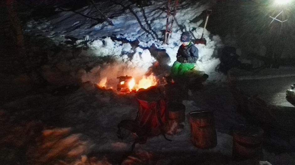 Måneskinstur Langhaugen 19.02.2016.
