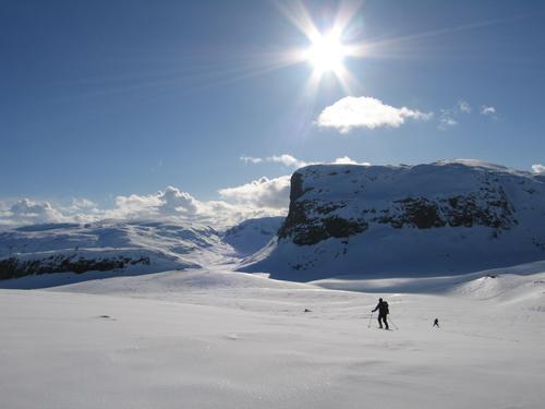 Spenn på deg skiene - det er vår