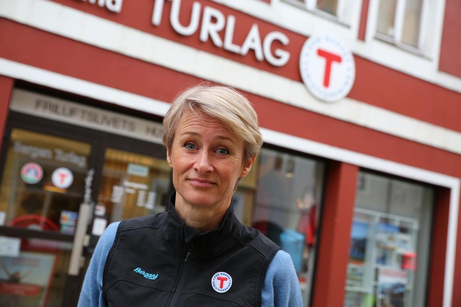 Helene Ødven, daglig leder i Bergen og Hordaland Turlag.