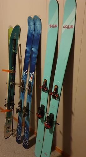 Sltne  gode ski trenger kjærlig pleie