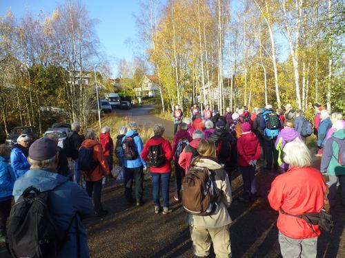 Seniortur Gretteåsen/Undrumsdal 28 oktober