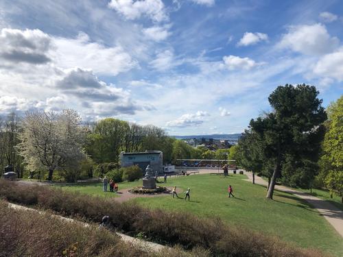 Utsikt fra Oslos parker