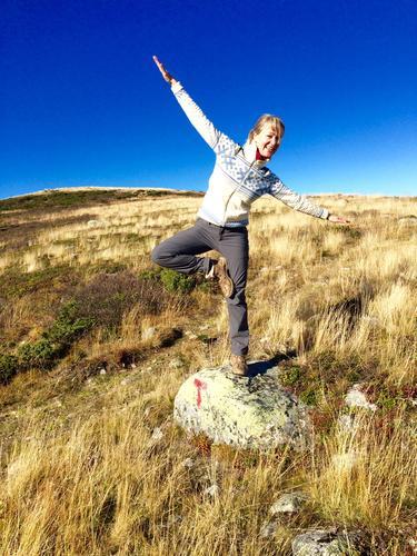 Yoga i naturen! Turleder Kaisa