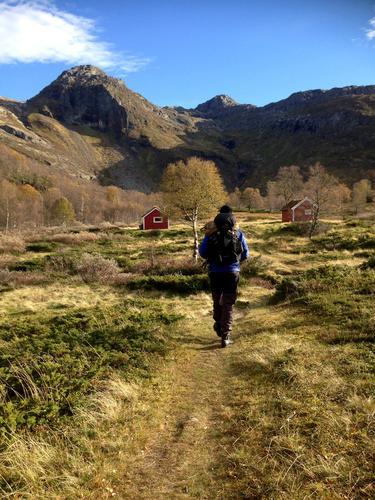 På vei til Melandsgrønahei i Ryfylkeheiene
