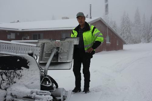 Nå kjøres det skiløyper på Hedmarksvidda!
