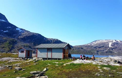 Helgetur til Blåvatnhytta - Jubileumstur