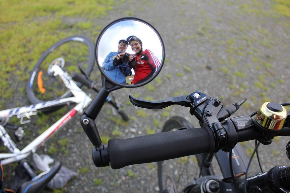 Trivelig på veien: Ta med familien på en enkel sykkeltur i Hedemarken.