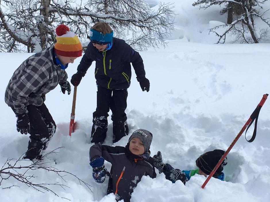 Moro i snøen