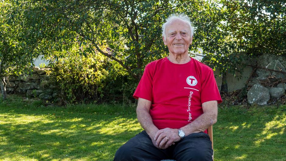 Johan Østbø er en av våre rutinerte dugnadshelter. Han forteller at dugnadsarbeidet i Stavanger Turistforening har gitt livet en ny mening.