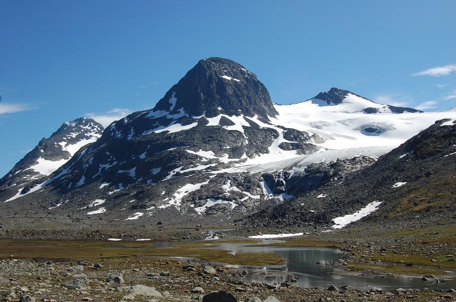 Vakkert i Svartdalen, på ruta mellom Torfinnsbu og Gjendebu.