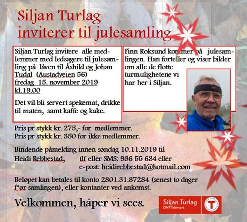 Siljan Turlags julesamling 15. november
