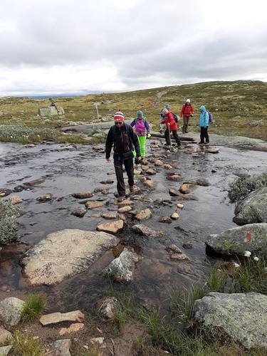I august hadde Seniorgruppa 3 dagers tur på Hardangervidda