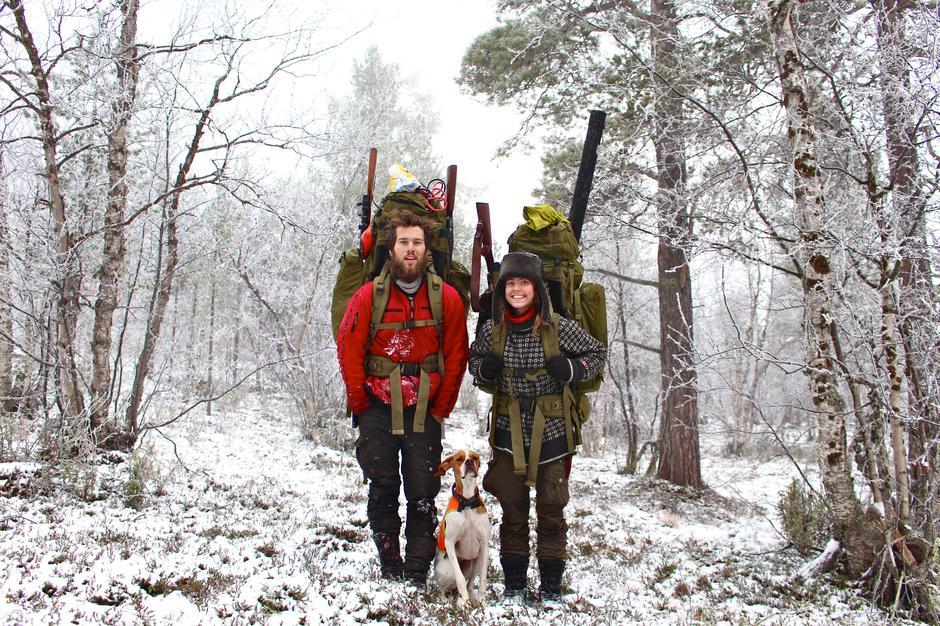 Andreas og Elise Theoline Skagøy forteller om sitt år på villmarkseventyr.