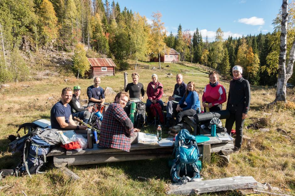 Sprek gjeng på tur i Vestmarka