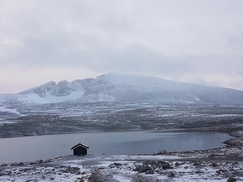 Snøhetta sett fra Snøheim