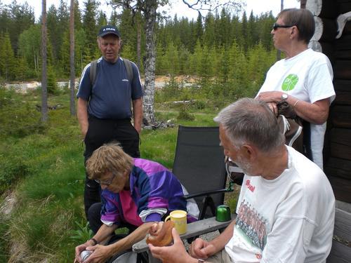 Skogstur på Veståsen, S. Land torsdag 9. juni