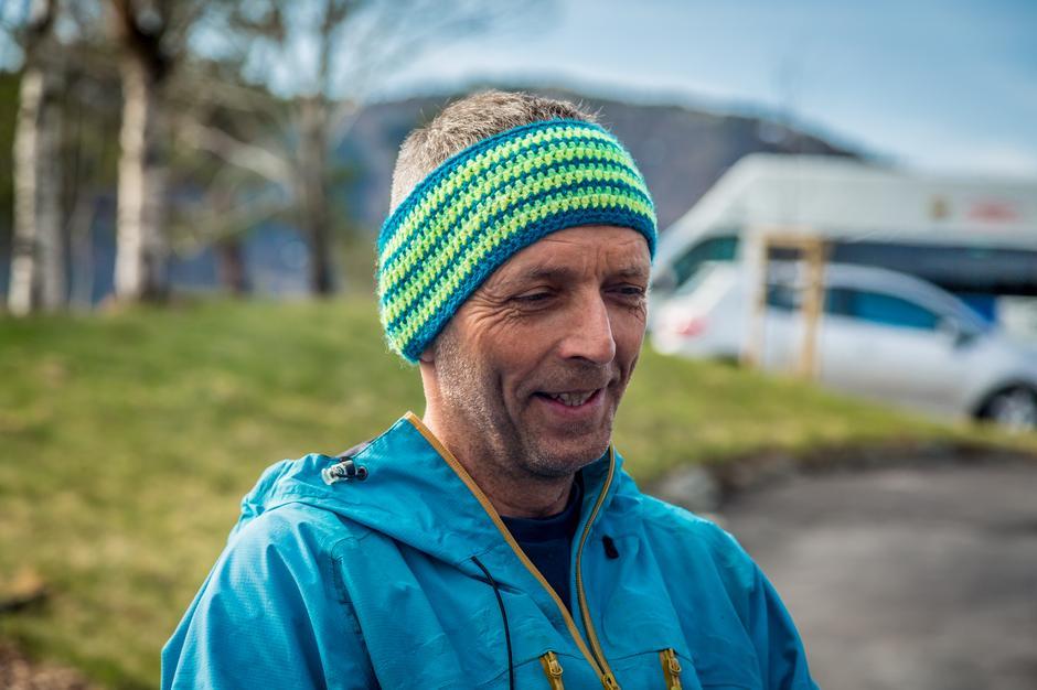 Prisvinner Håvard Johansen