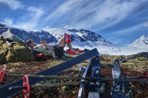 Forholdene i fjellet ved hyttene våre