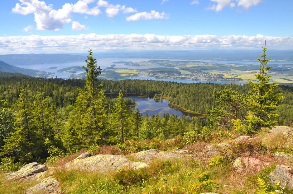 Utsikten fra Gyrihaugen