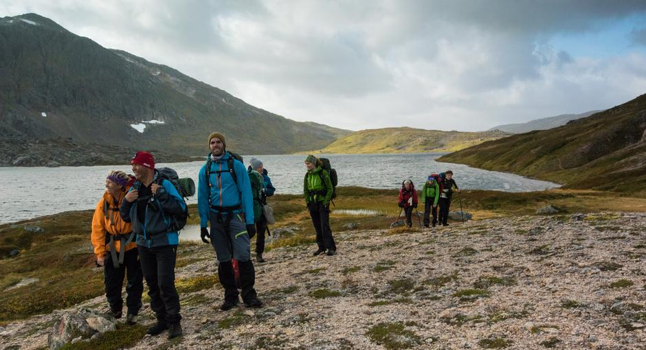 På tur i Jonsheimen mellom Haakonsbu og Toralfsbu