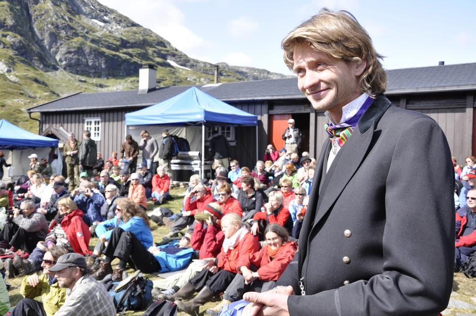 Bestyrer Geirmund Tormodsgard på Iungsdalshytta