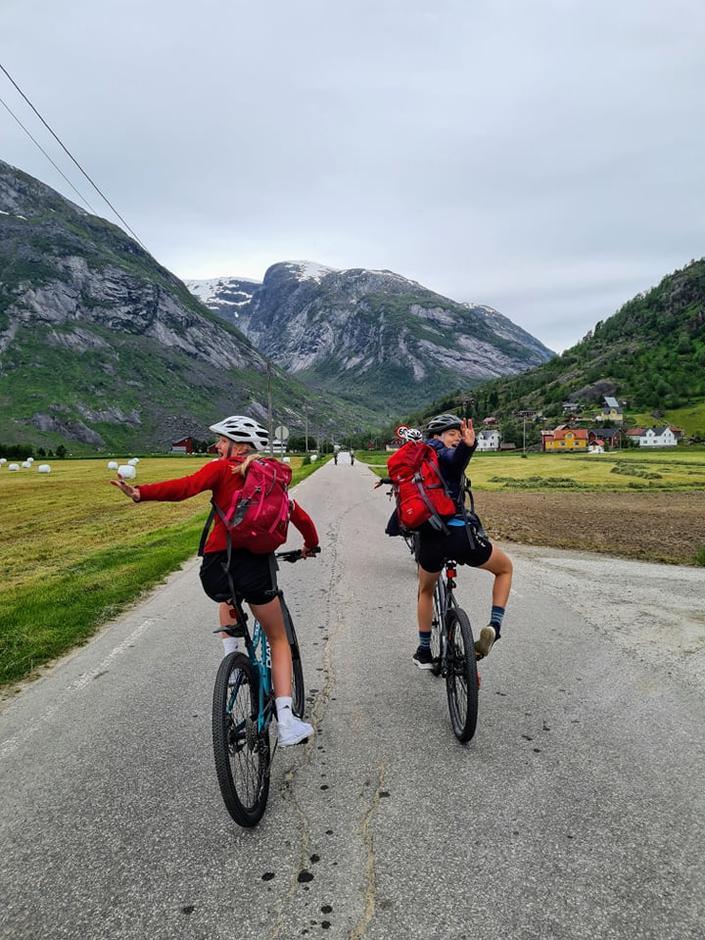 Ha det så lenge- no dreg vi på sykkeltur!