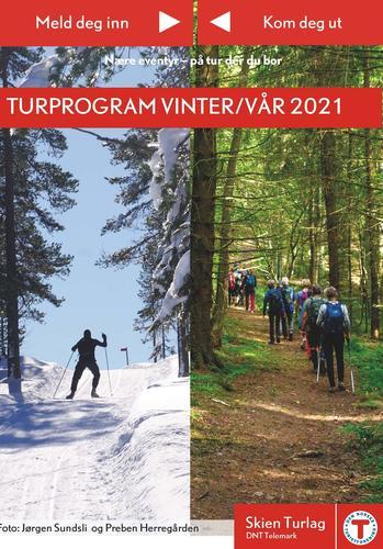 Skien Turlags turprogram 2021