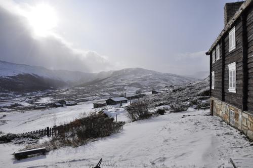 Velkommen til GriMsdalshytta i vinter