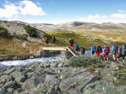 Trekanten i Tafjordfjella 2018