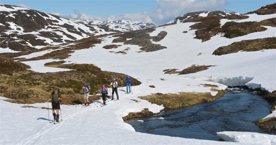 Lørdag 20.5: Vårskitur fra Eksingedal til Selhamar i Stølsheimen
